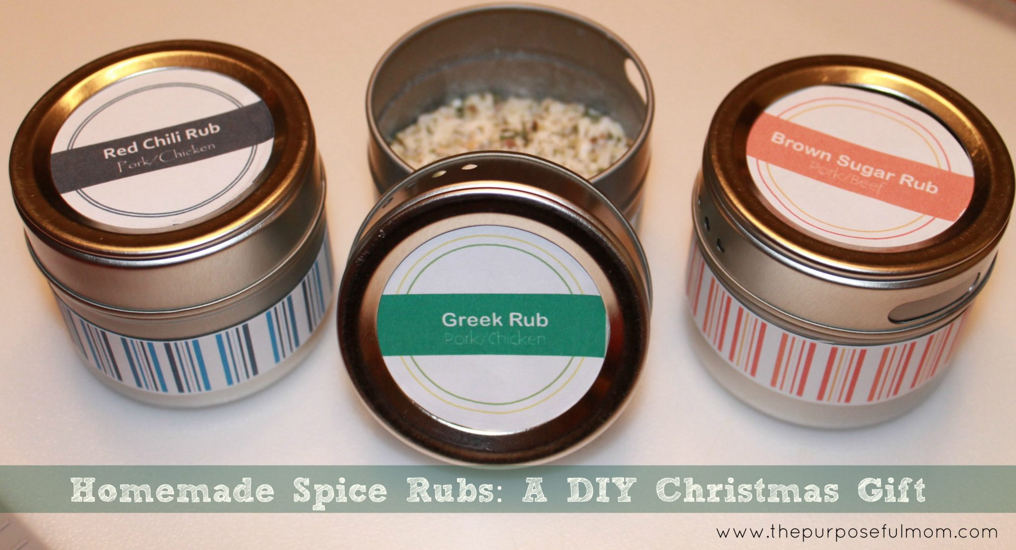 Homemade Spice Rubs: A DIY Christmas Gift - Great for Guys Too! - The ...