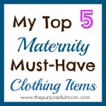 My Top 5 Maternity Must-Have Clothing Items