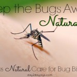 Natural Repellents for Ticks and Mosquitoes plus Natural Treatment for Insect Bites