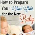 Preparing Older Children for a New Sibling