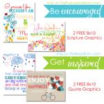 FREE Printable Designer Graphics for the Christian Home