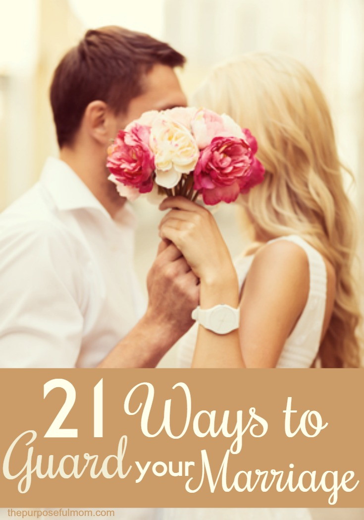 Are you going through a time of difficulty and struggle in your marriage? Just looking for some tips that will help you and your husband to strengthen your marriage relationship? Here are 21 ways we can guard our marriage, by the grace of God! Isn't it an encouragement to know that the Lord is for your marriage?