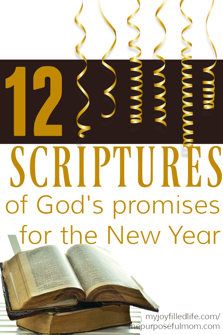 12 Scriptures of God's Promises for the New Year - The ...
